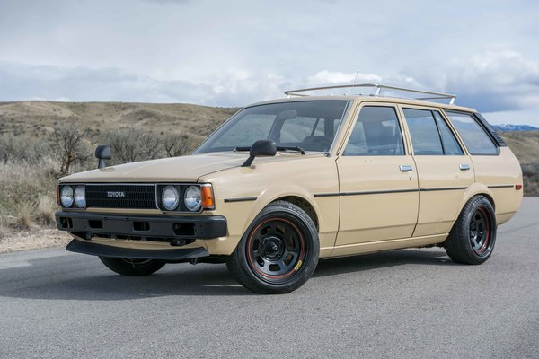 1980 toyota corolla wagon 4200 boise japanese nostalgic car. Black Bedroom Furniture Sets. Home Design Ideas